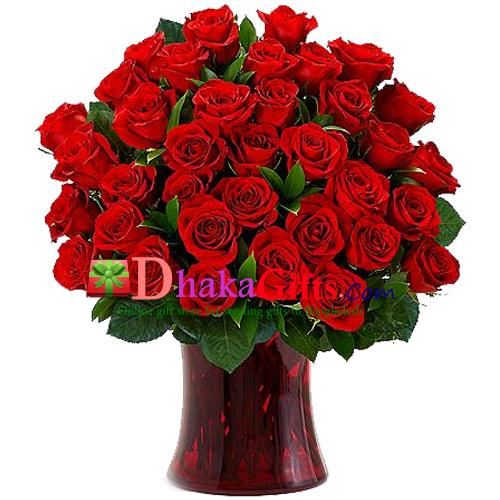 send flower in vase to japan